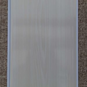 Отделочный профиль ПВХ внутреннего применения 250 мм. с Термопечатью: , Белый ясень