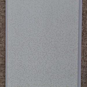 Отделочный профиль ПВХ внутреннего применения 250 мм. с Термопечатью: Кристал