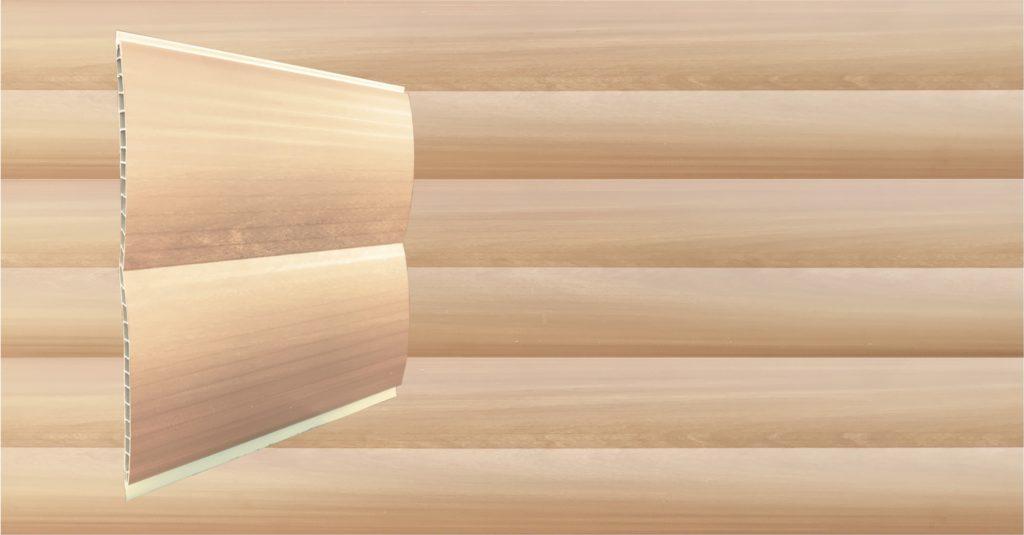 Светлое дерево Блок-хауз