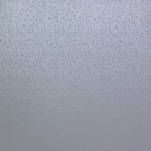 Отделочный профиль ПВХ внутреннего применения,потолочный, 250 мм. с Термопечатью:  Белая вуаль (195/1),  2,7 м.
