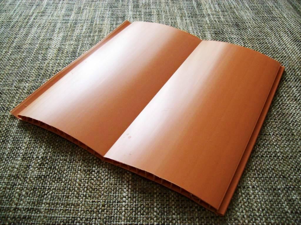 Коричнево-оранжевый Блок-хаус