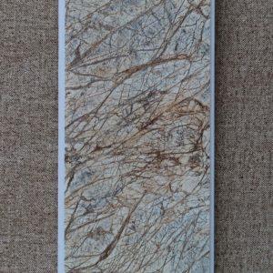 Отделочный профиль ПВХ внутреннего применения,потолочный, 250 мм. с Термопечатью: Бидасарголд (0106/1), 2,7 м.