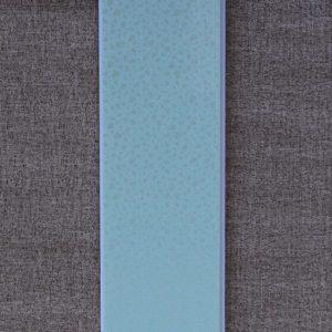Отделочный профиль ПВХ внутреннего применения250 мм. с Термопечатью: Бирюз.лист