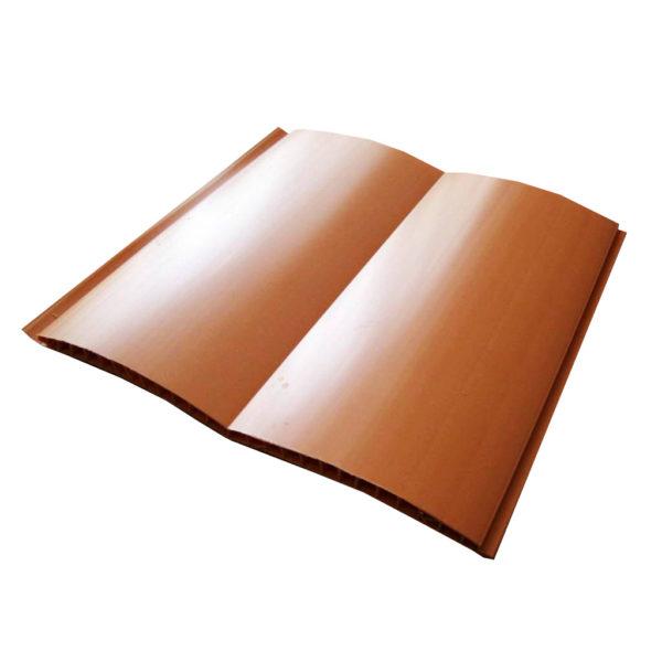 Блок-хаус 17 мм, стеновой,коричнево-оранжевый