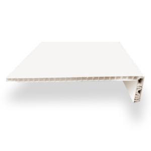 Отделочный профиль ПВХ внутреннего применения, Откос оконный 250 мм., цвет: белый - 3 м.